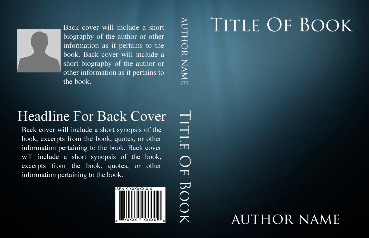 Basic book cover templates self publishing relief for For dummies template book cover